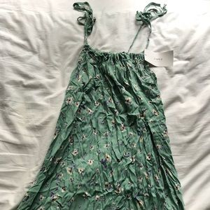 Zaful Drawstring Floral Dress